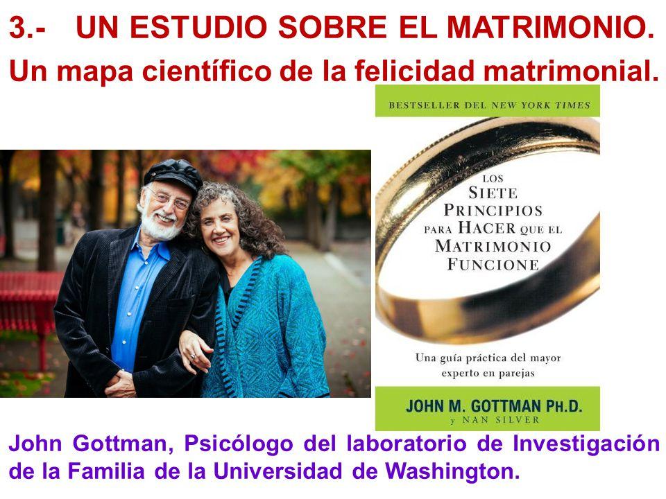 3.- UN ESTUDIO SOBRE EL MATRIMONIO.