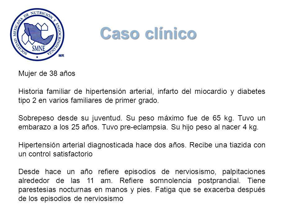 Caso clínico Mujer de 38 años