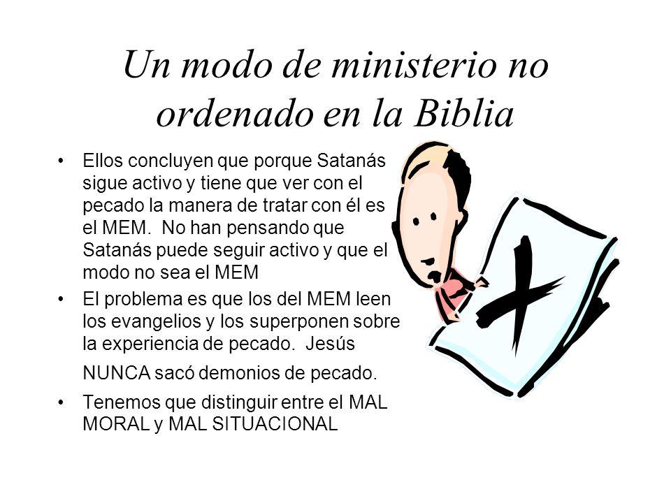 Un modo de ministerio no ordenado en la Biblia