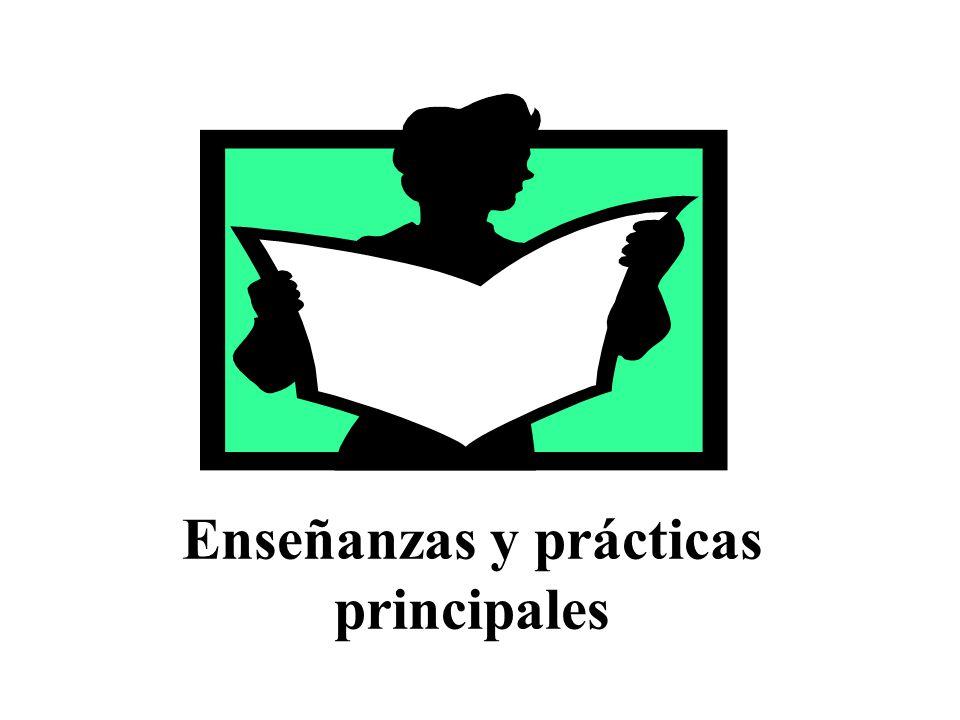 Enseñanzas y prácticas principales