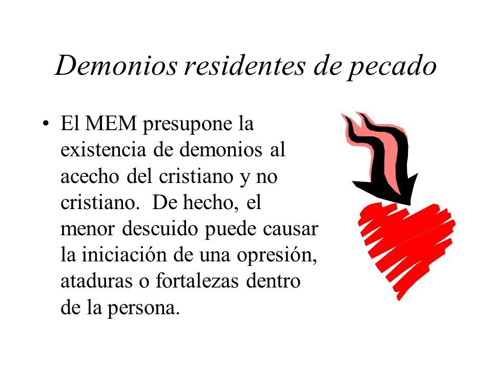 Demonios residentes de pecado