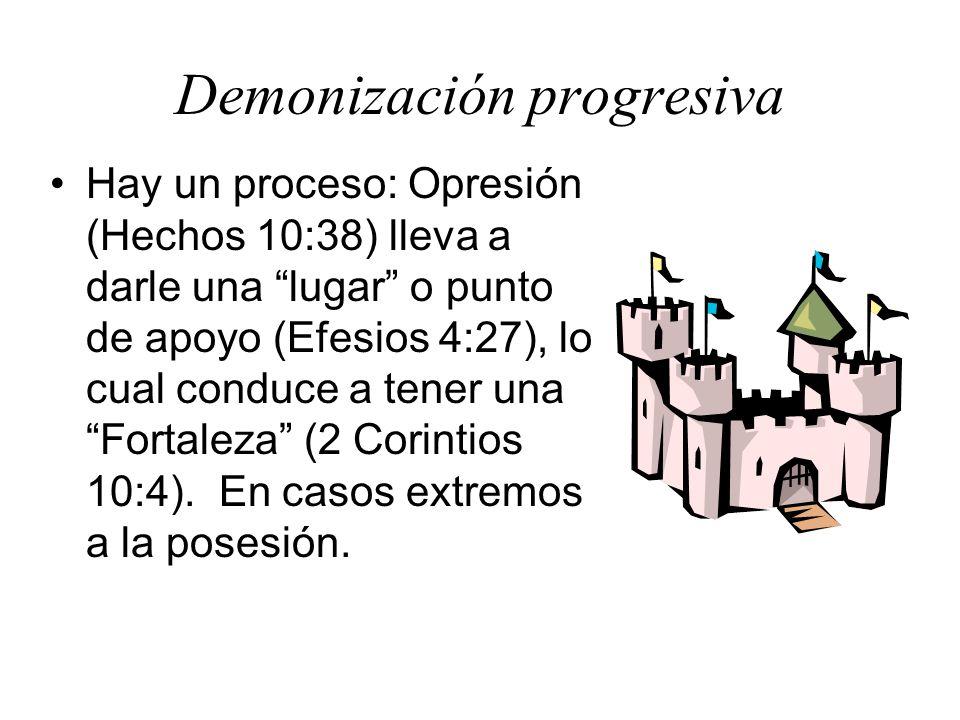 Demonización progresiva