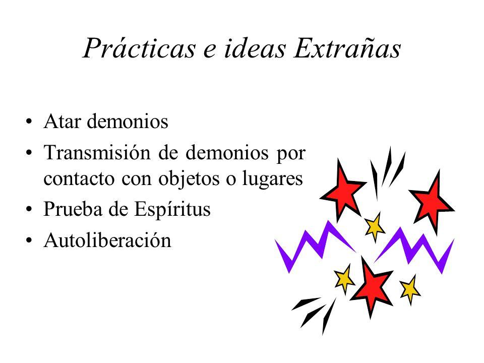 Prácticas e ideas Extrañas
