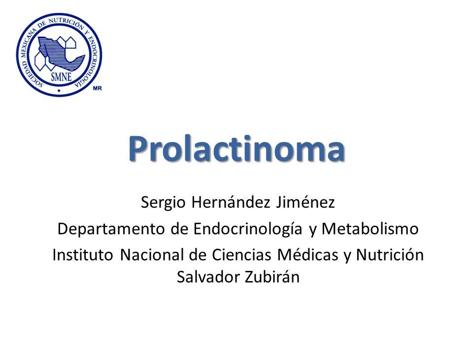 Prolactinoma Sergio Hernández Jiménez