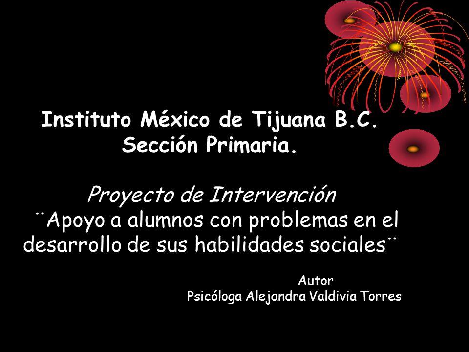 Instituto México de Tijuana B. C. Sección Primaria