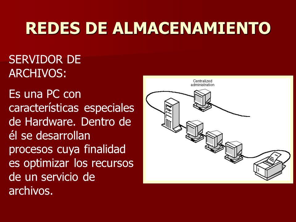 REDES DE ALMACENAMIENTO