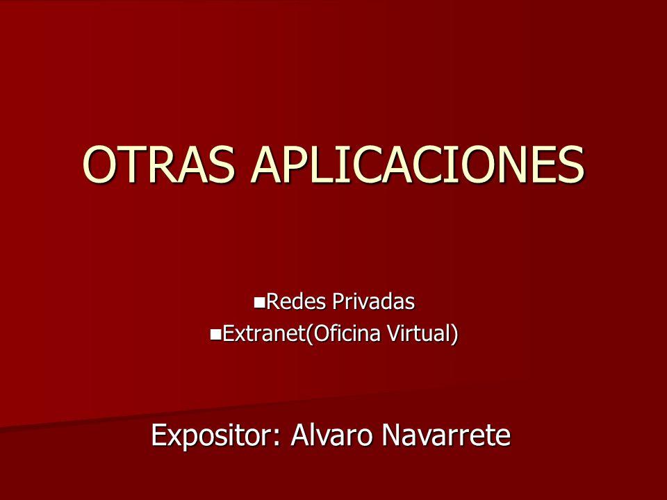 Redes Privadas Extranet(Oficina Virtual)