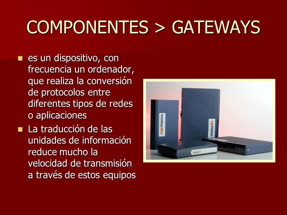 COMPONENTES > GATEWAYS