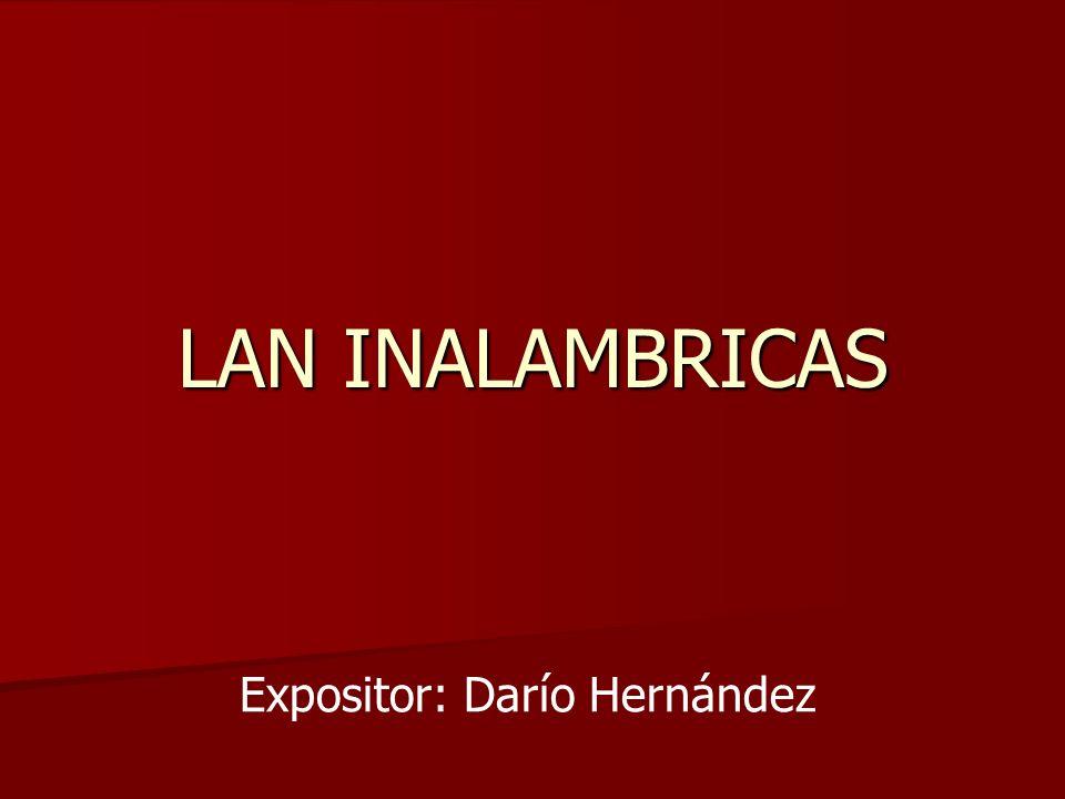 Expositor: Darío Hernández