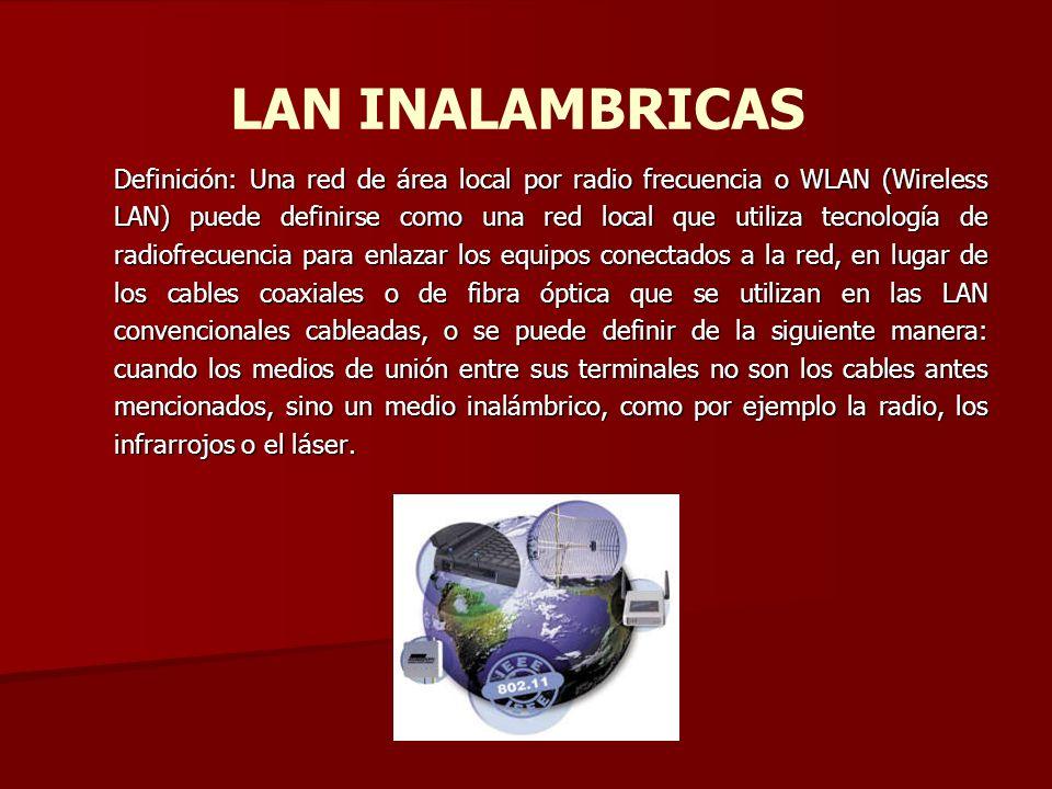 LAN INALAMBRICAS