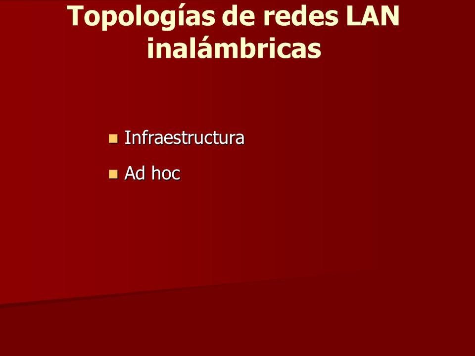 Topologías de redes LAN inalámbricas