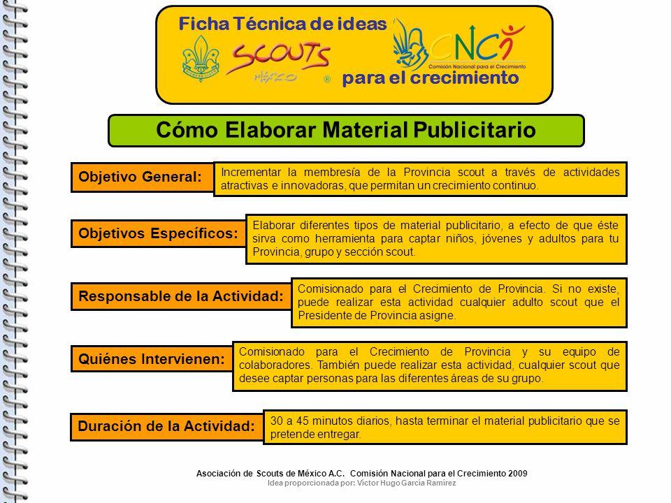 Cómo Elaborar Material Publicitario