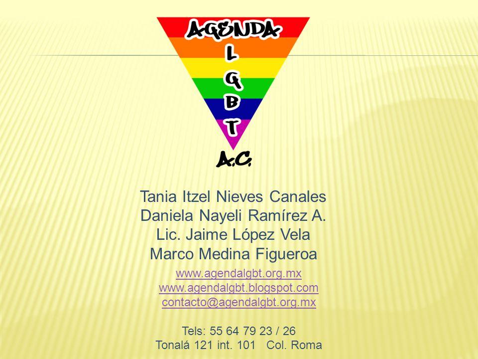 Tania Itzel Nieves Canales Daniela Nayeli Ramírez A.