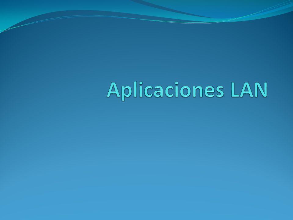 Aplicaciones LAN