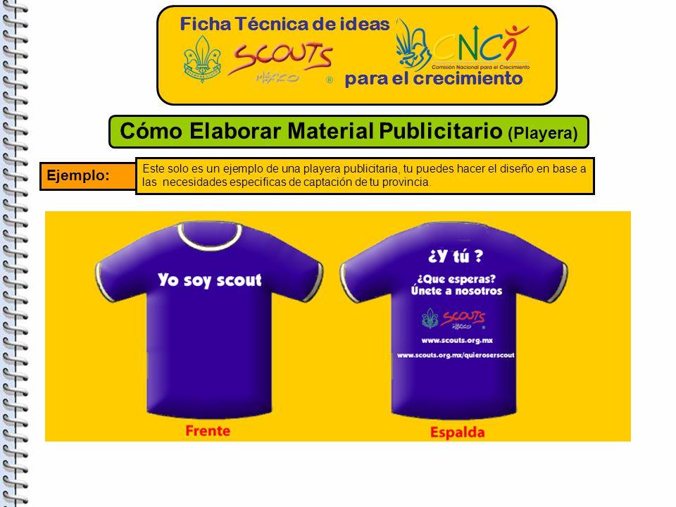 Cómo Elaborar Material Publicitario (Playera)