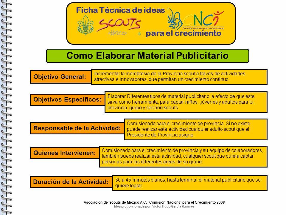 Como Elaborar Material Publicitario