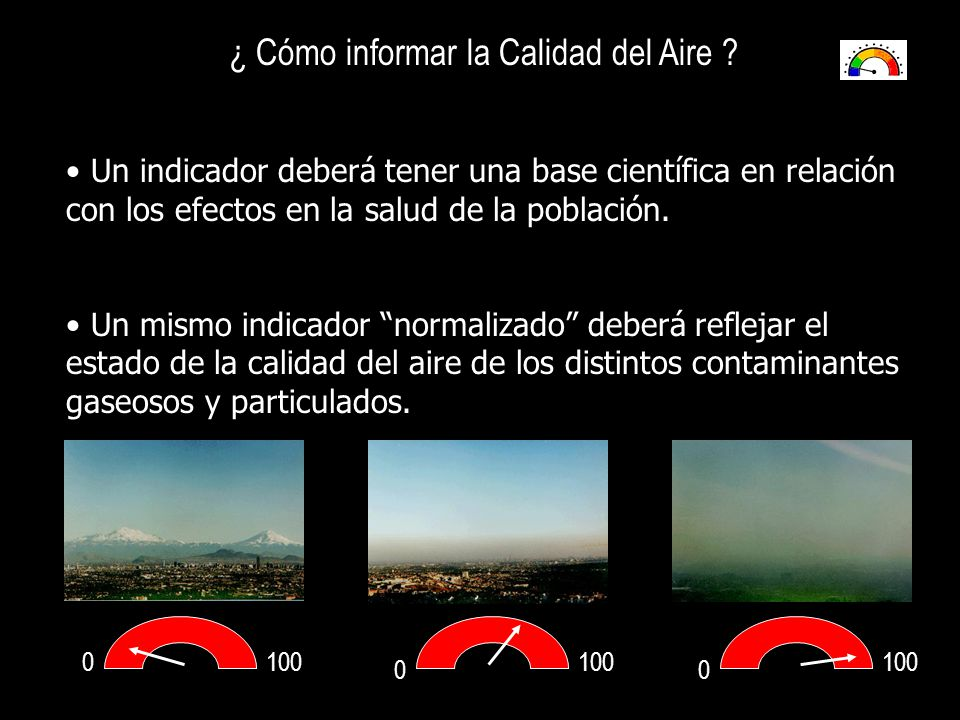 ¿ Cómo informar la Calidad del Aire