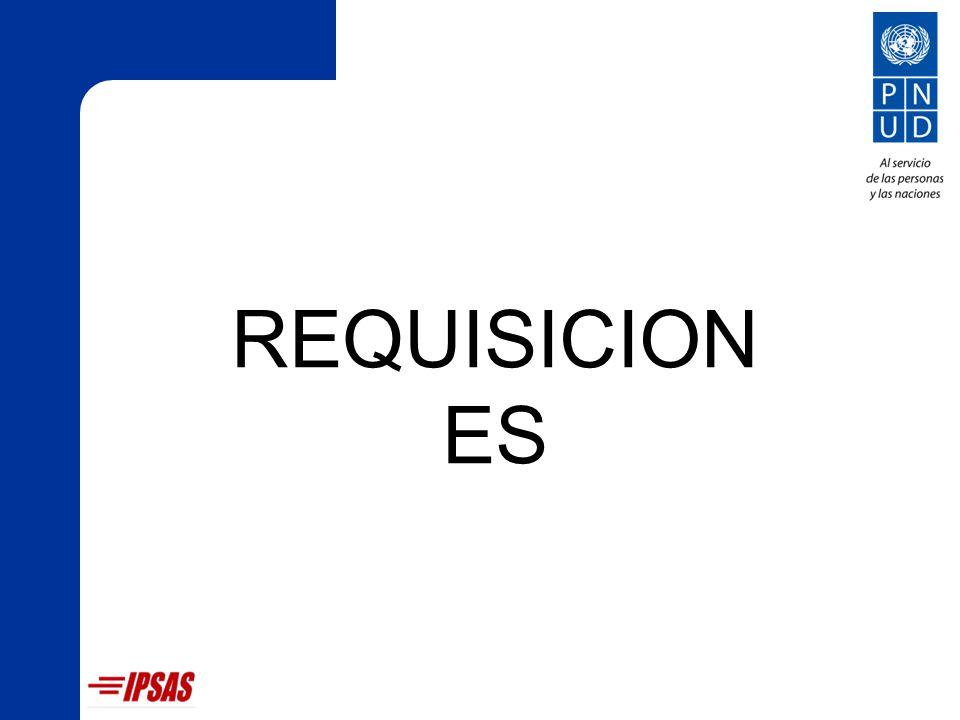 REQUISICIONES
