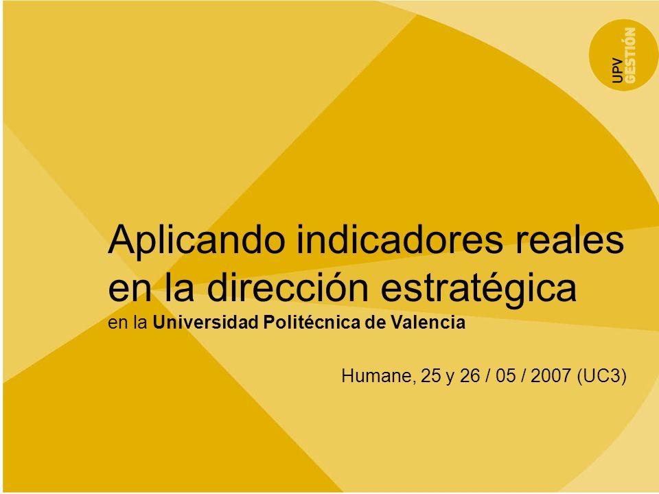 Aplicando indicadores reales en la dirección estratégica