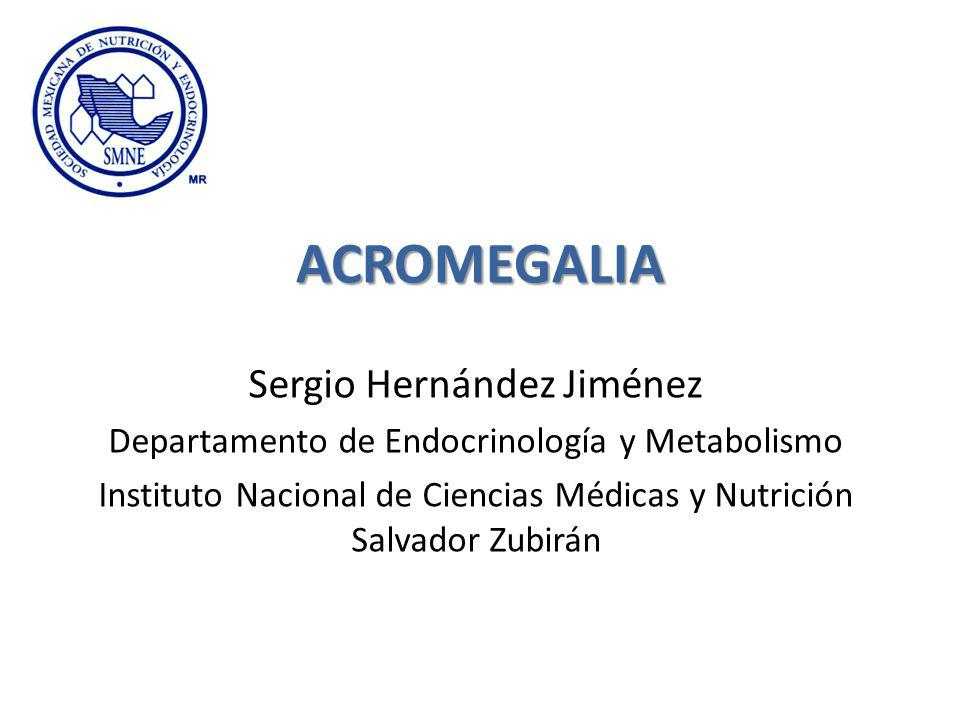 ACROMEGALIA Sergio Hernández Jiménez