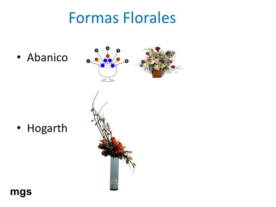 Formas Florales Abanico Hogarth mgs