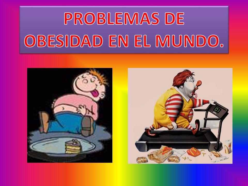 PROBLEMAS DE OBESIDAD EN EL MUNDO.