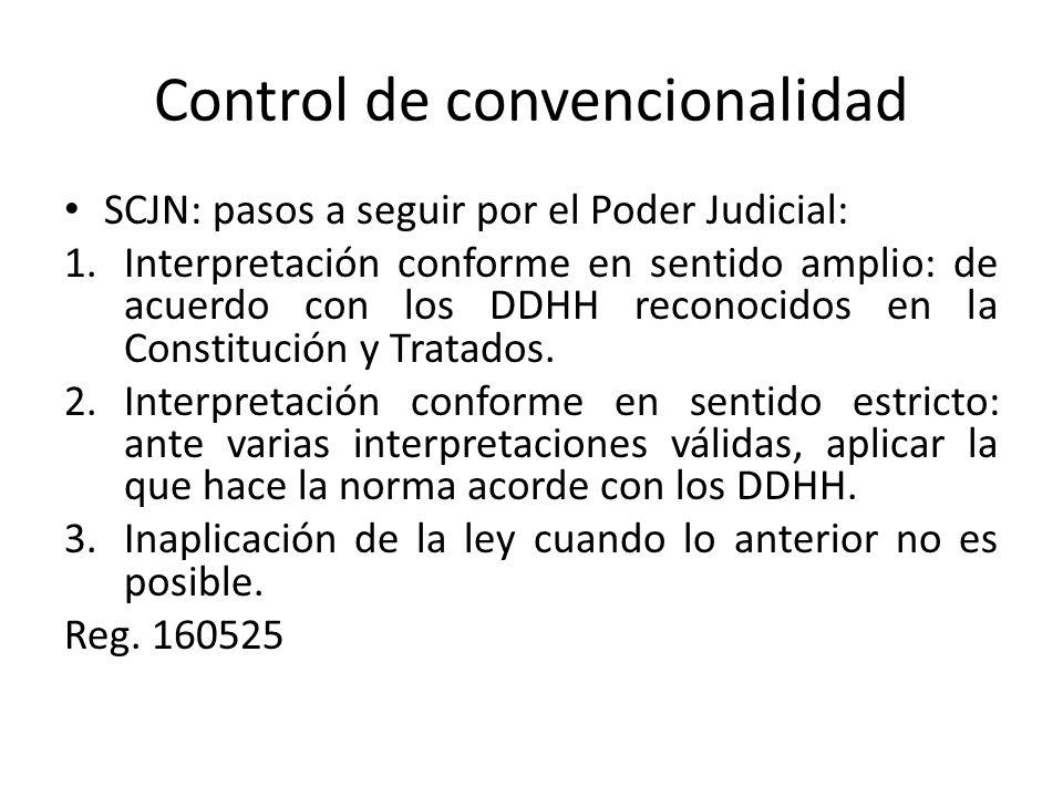 Control de convencionalidad
