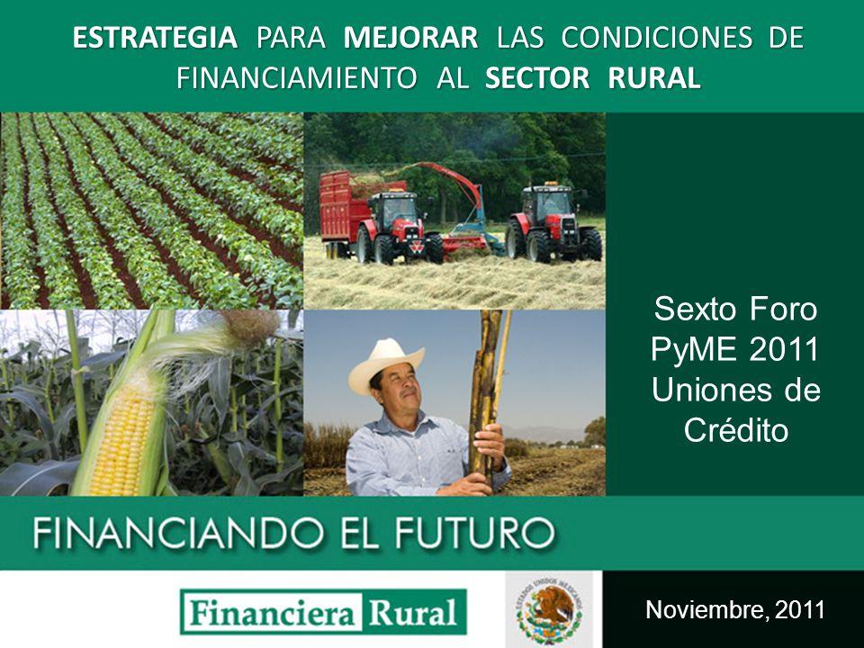 Sexto Foro PyME 2011 Uniones de Crédito
