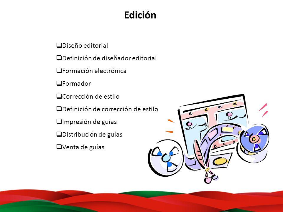 Edición Diseño editorial Definición de diseñador editorial