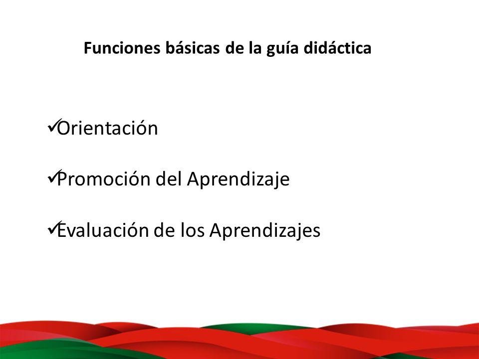 Promoción del Aprendizaje Evaluación de los Aprendizajes