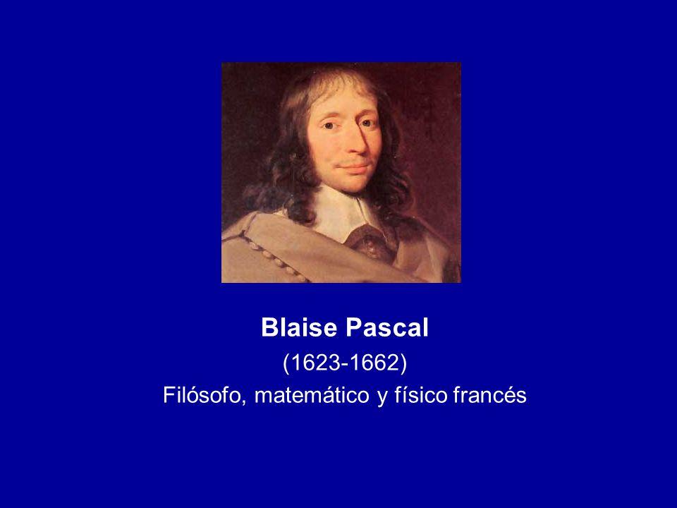 Filósofo, matemático y físico francés