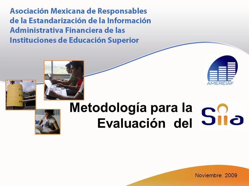 Metodología para la Evaluación del