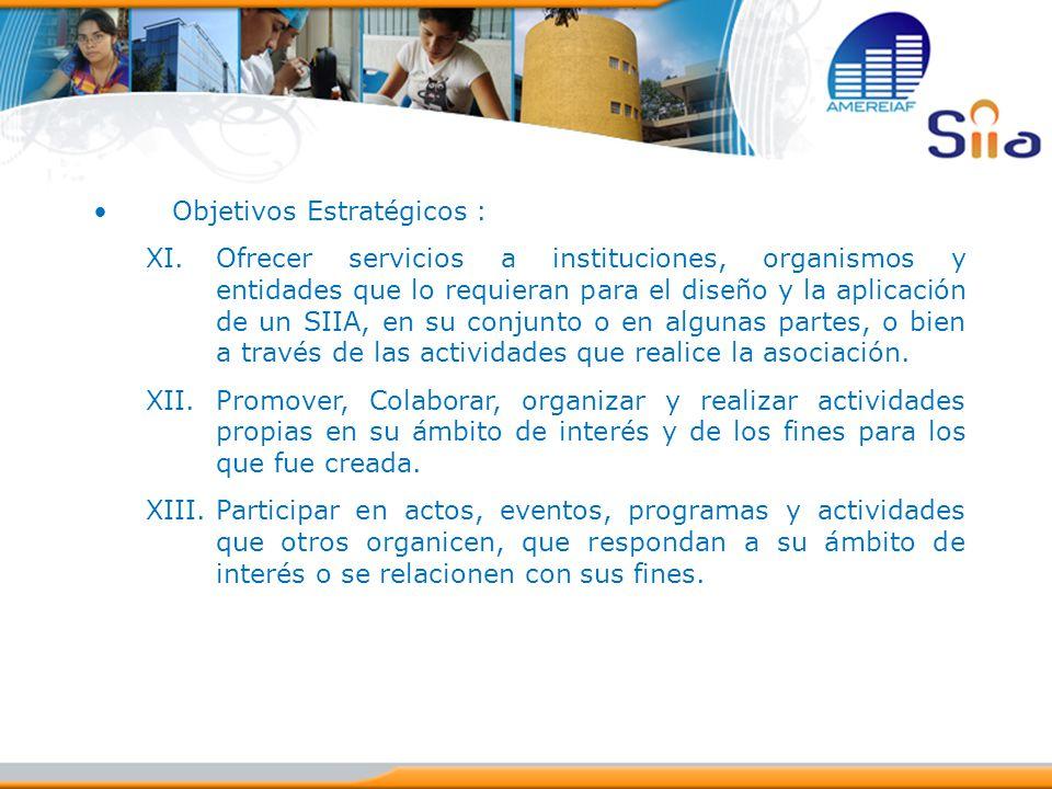 Objetivos Estratégicos :