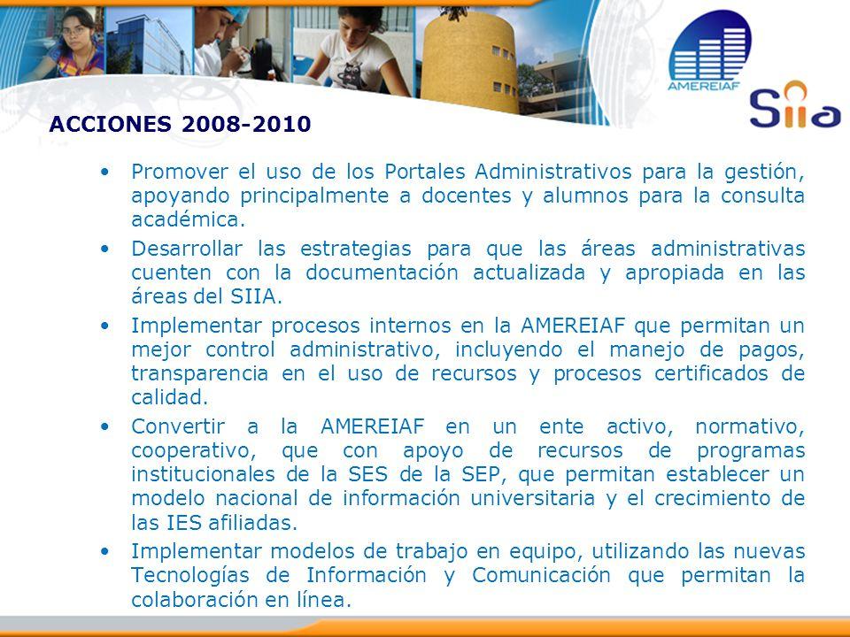 ACCIONES 2008-2010