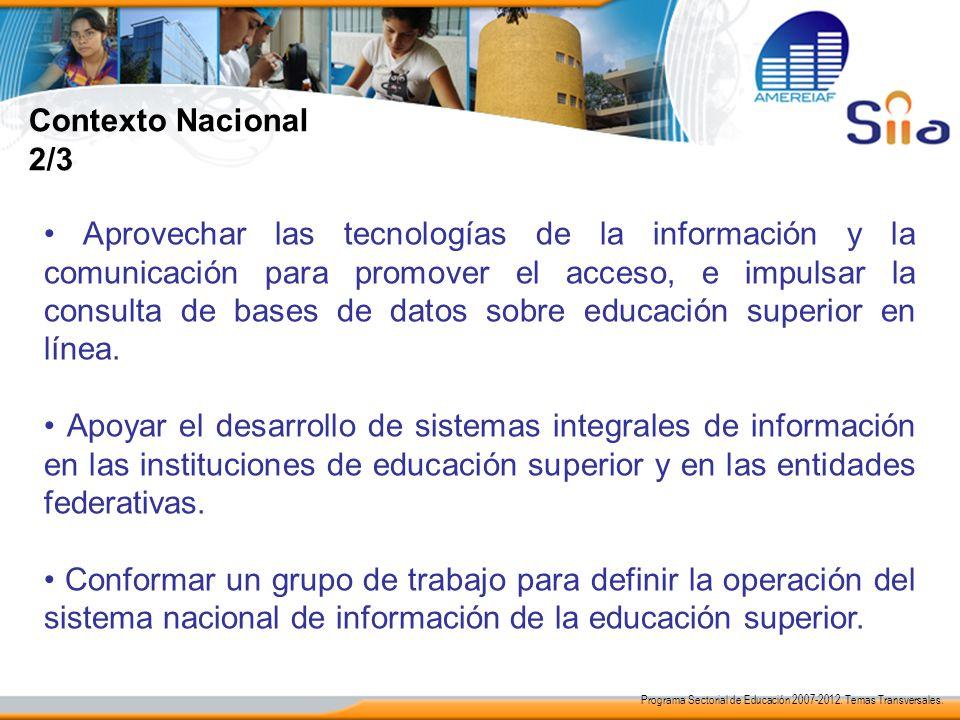 Contexto Nacional 2/3.