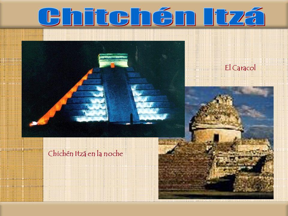 Chitchén Itzá El Caracol Chichén Itzá en la noche