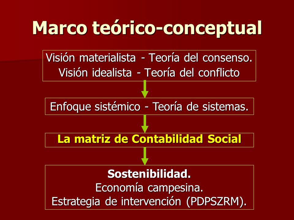 Marco teórico-conceptual