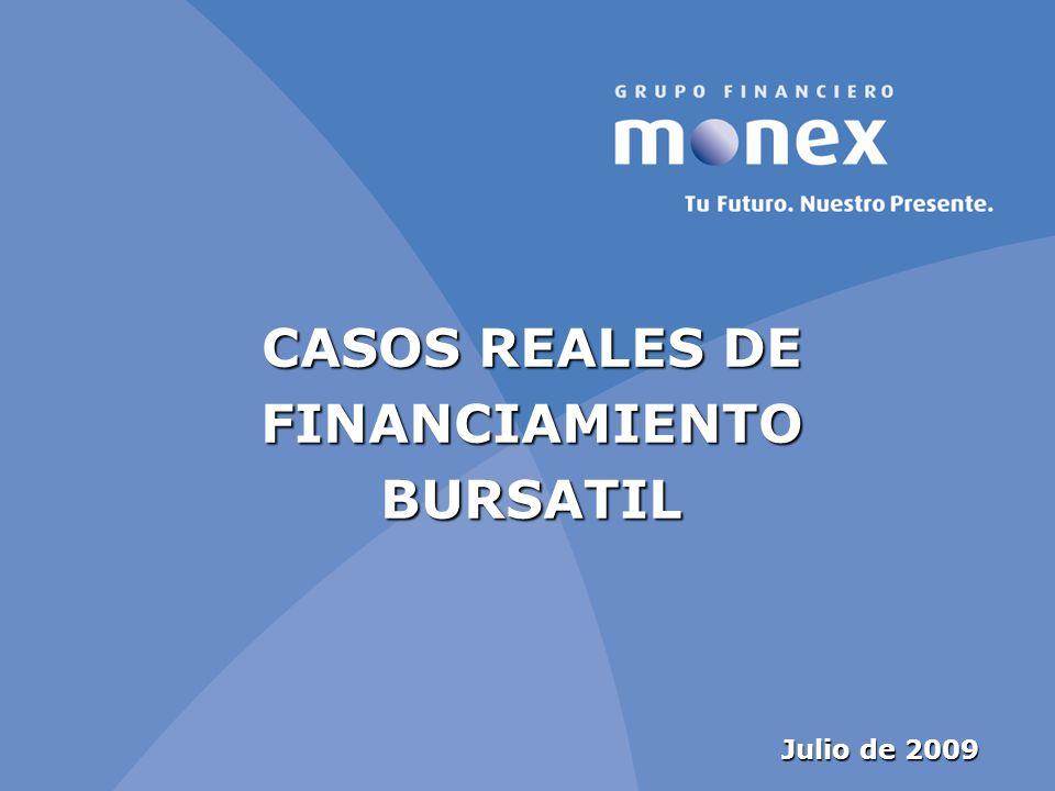 CASOS REALES DE FINANCIAMIENTO BURSATIL
