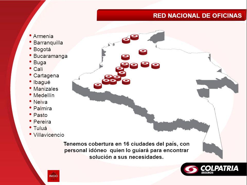 RED NACIONAL DE OFICINAS