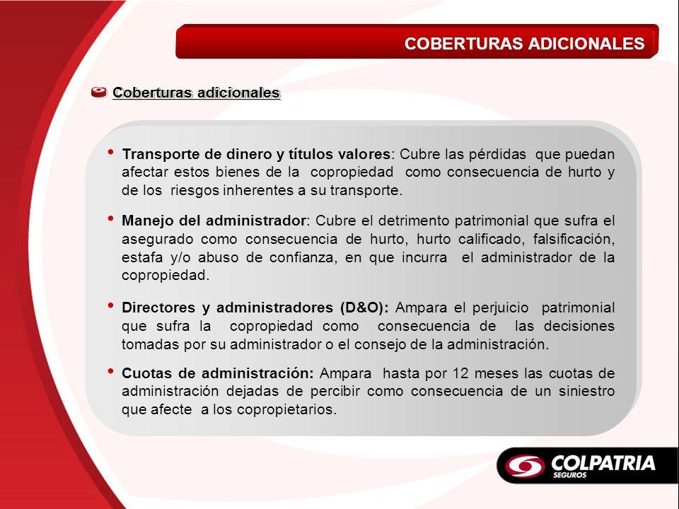 COBERTURAS ADICIONALES VIDA A MI MEDIDA