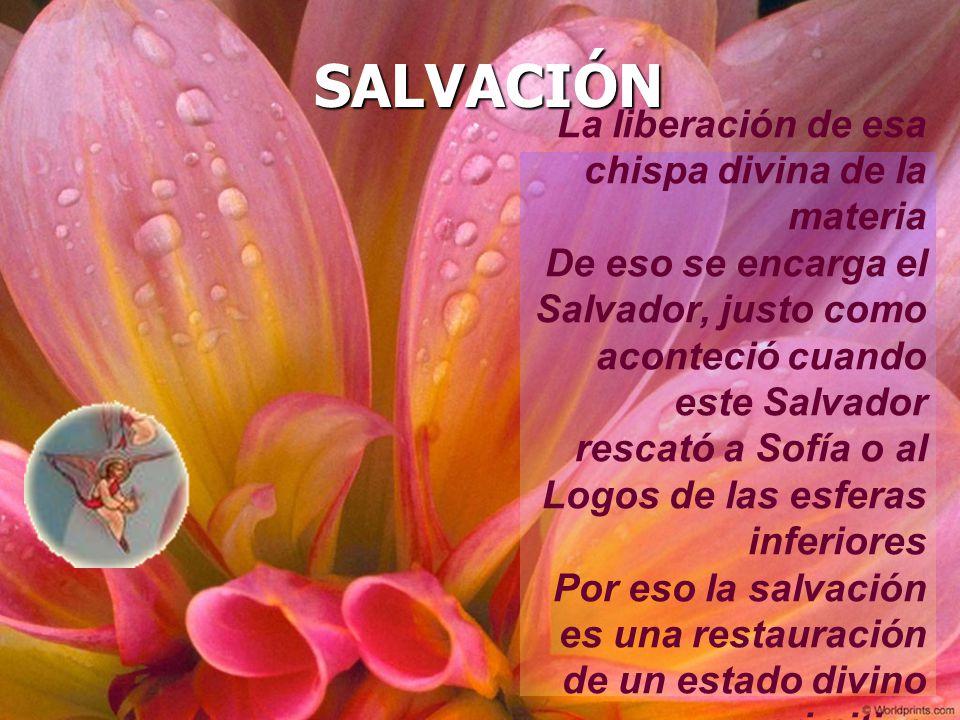 SALVACIÓN La liberación de esa chispa divina de la materia