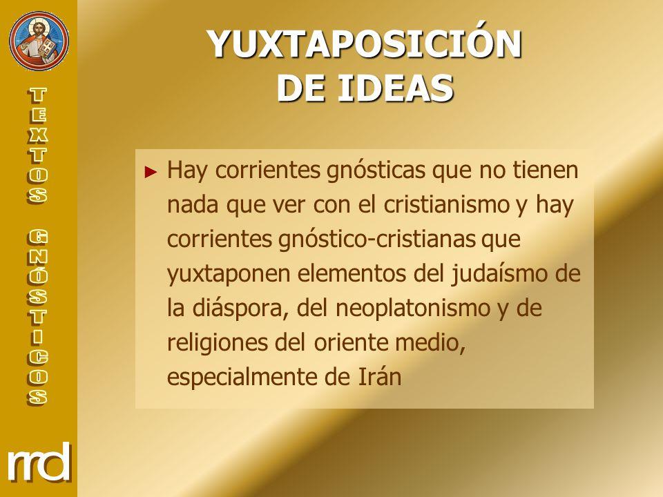 YUXTAPOSICIÓN DE IDEAS
