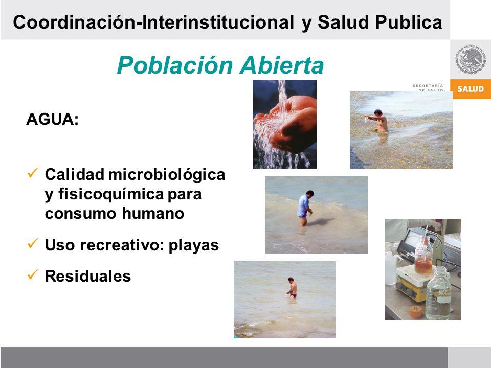 Población Abierta Coordinación-Interinstitucional y Salud Publica