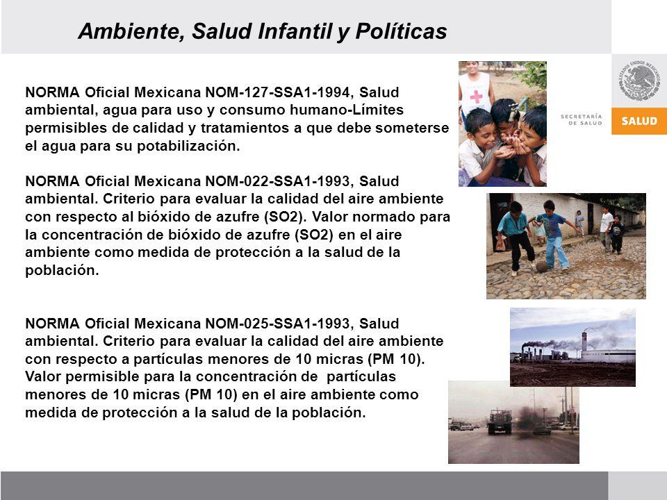 Ambiente, Salud Infantil y Políticas