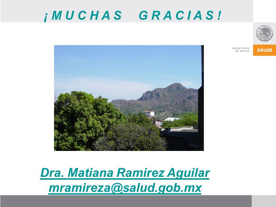 Dra. Matiana Ramirez Aguilar