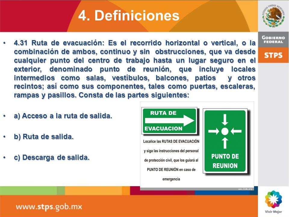 4. Definiciones