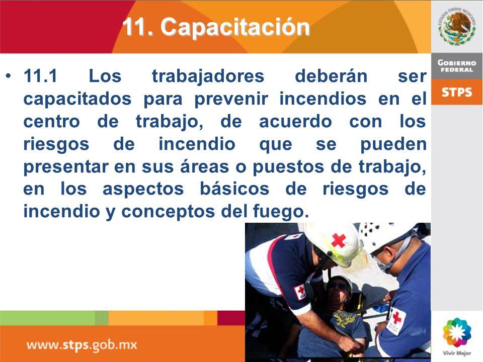 11. Capacitación