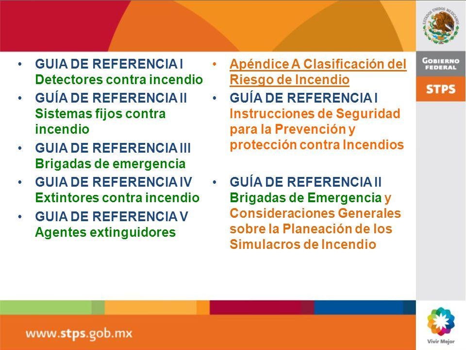 GUIA DE REFERENCIA I Detectores contra incendio