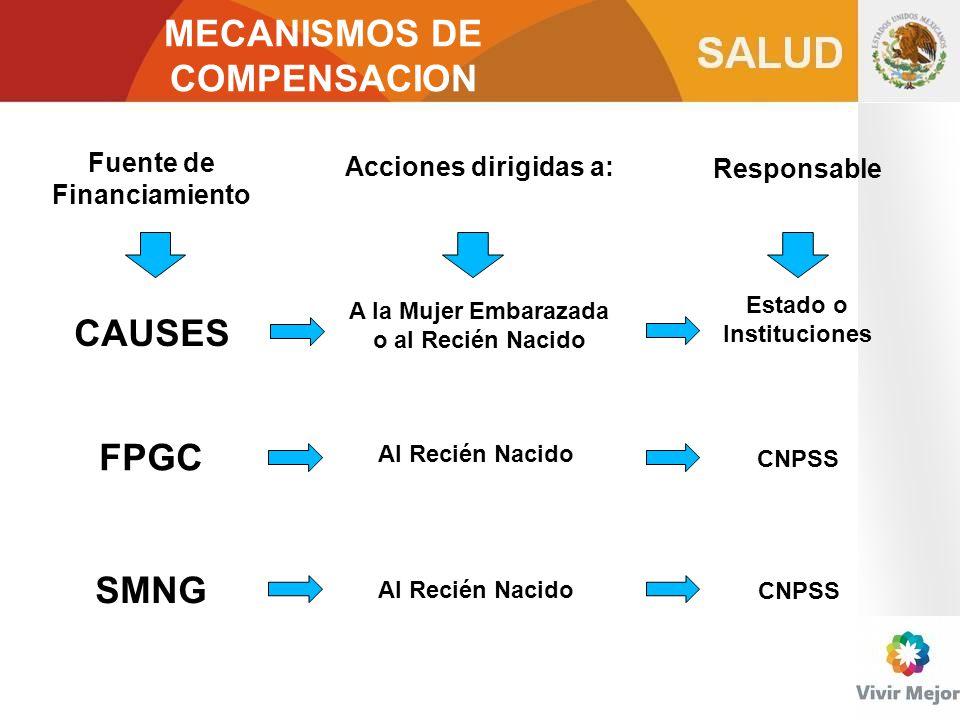 MECANISMOS DE COMPENSACION CAUSES FPGC SMNG
