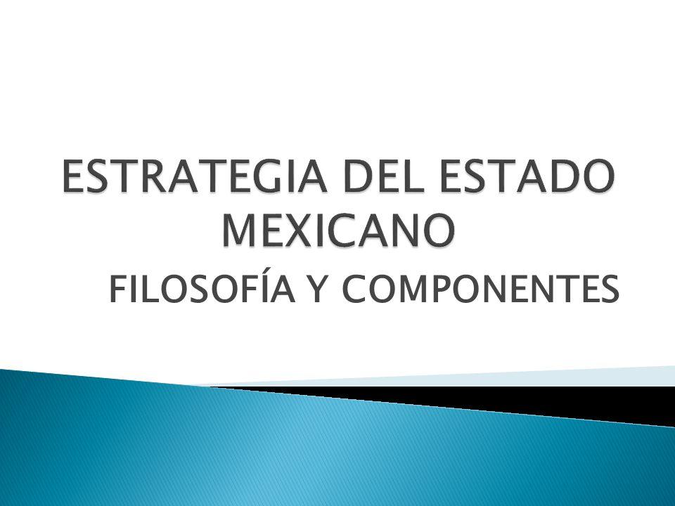 ESTRATEGIA DEL ESTADO MEXICANO